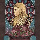 Rose Tyler art nouveau by koroa