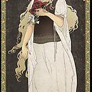 Eowyn art nouveau LotR by koroa