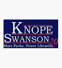 Knope Swanson 2020 Photographic Print