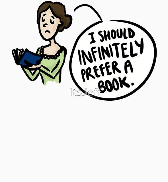 lnfinitely prefer a book  by ItsJeff