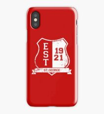 St.George Rugby League: Established Shield iPhone Case