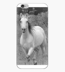 Stephanies Storm in Black & White iPhone Case