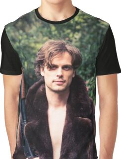 Matthew Gray Gubler Graphic T-Shirt