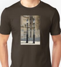 Lampposts Outside the Houses of Parliament Unisex T-Shirt
