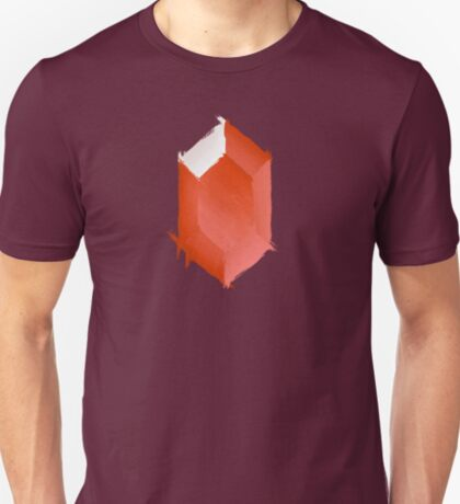 Red Rupee Paint T-Shirt