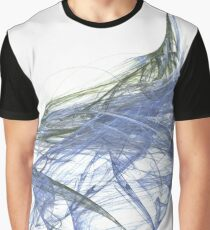 Water and Tree Mix Graphic T-Shirt