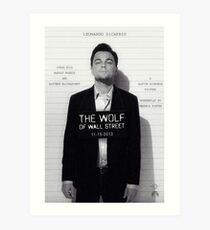 Leonardo Di Caprio - The Wolf of Wall Street Art Print
