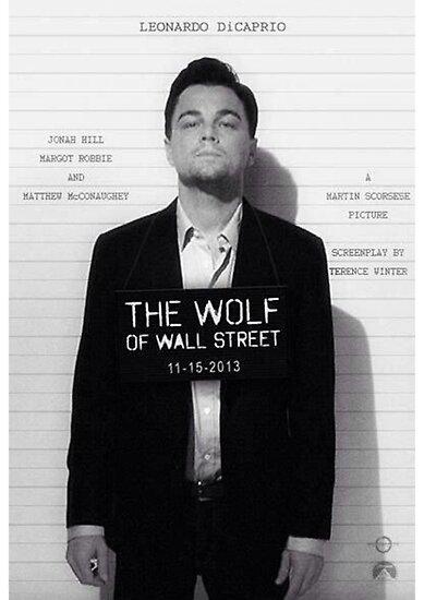 Leonardo Di Caprio - Der Wolf der Wall Street von Arjan Schuurman