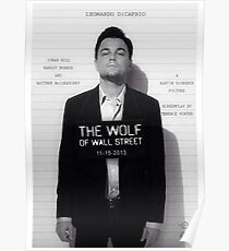 Leonardo Di Caprio - The Wolf of Wall Street Poster