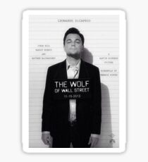 Leonardo Di Caprio - The Wolf of Wall Street Sticker