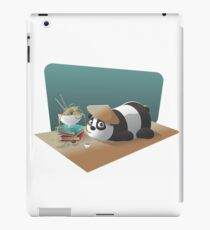 Goofy Panda iPad Case/Skin