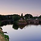 Diglis Dock, Worcester by Lissywitch