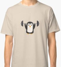Penguin Weightlifting Classic T-Shirt