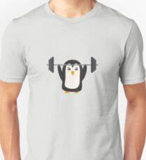 Penguin Weightlifting T-Shirt