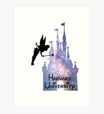 Harvard University Castle Art Print