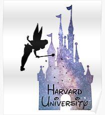 Harvard University Castle Poster