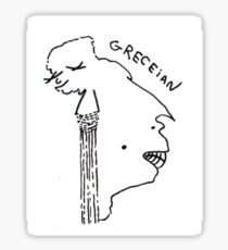 Grecian Sticker