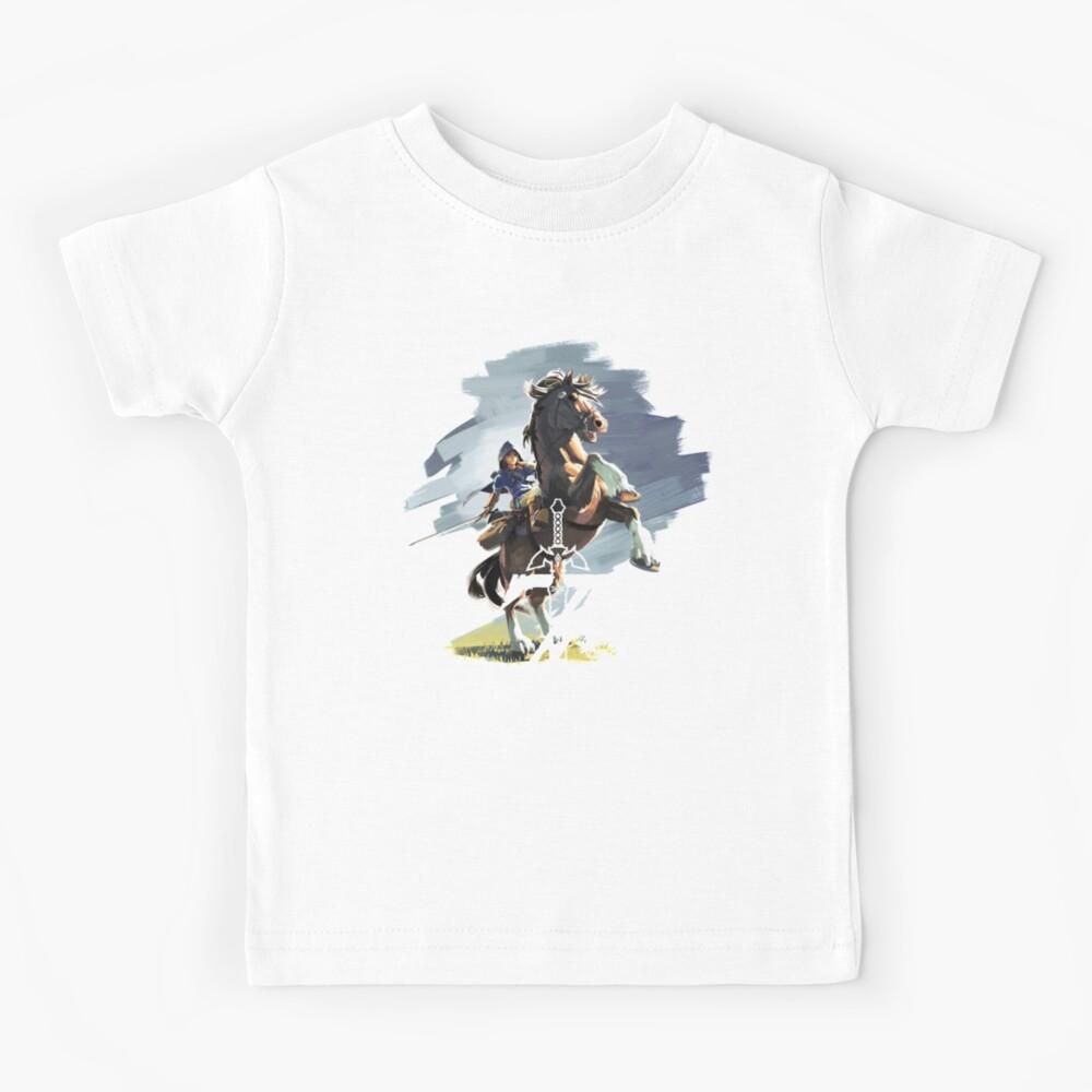 Zelda Aliento de lo salvaje Camiseta para niños