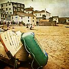 Low tide at St Ives harbour by Lissywitch