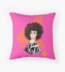BIG HAIR, DON'T CARE! Throw Pillow