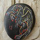 Rock 'N' Ponies - BLACK PEARL PEGASUS by louisegreen