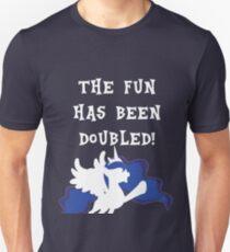 The Fun Has Been Doubled! - Princess Luna T-Shirt