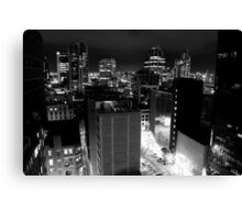 My City, My Home Canvas Print