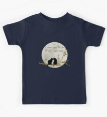 Love you to the moon and back Kids Tee