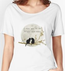 Love you to the moon and back Women's Relaxed Fit T-Shirt