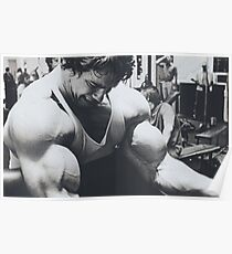 Arnold workout Poster