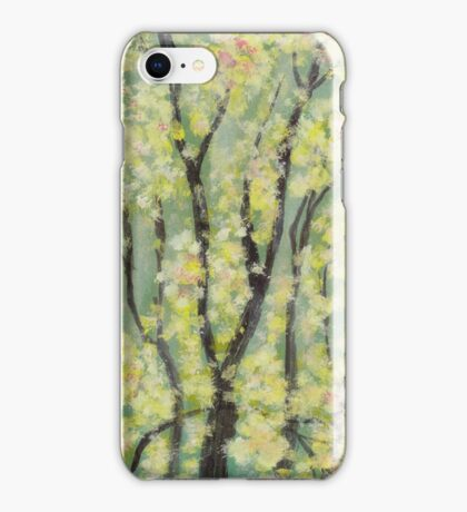 Pompom Mimosa from Amphai iPhone Case/Skin