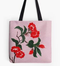 Red Flowers from Amphai Tote Bag