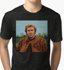 Steve McQueen Painting Tri-blend T-Shirt