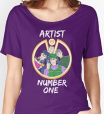 Artist Number One Women's Relaxed Fit T-Shirt