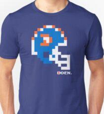 """DEN """"D"""" Helmet - Tecmo Bowl Shirt Unisex T-Shirt"""