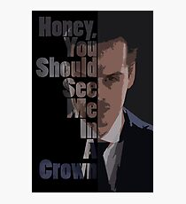 In a Crown Photographic Print