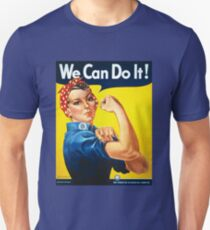 We Can Do It Rosie the Riveter Original Vintage Print T-Shirt