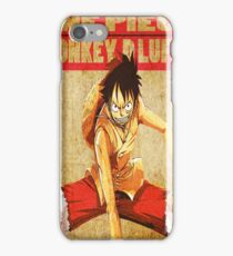 anime-luffy iPhone Case/Skin