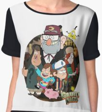 Gravity Falls Chiffon Top