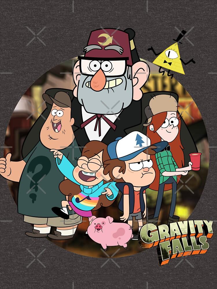 Gravity Falls by Animenox