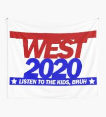 West for Pres-2020 Wall Tapestry
