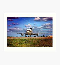 MD11 Cargo Art Print