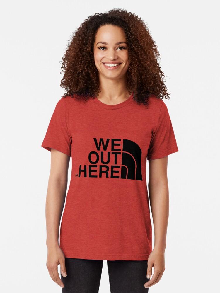 Alternative Ansicht von Wir hier draußen (schwarz) Vintage T-Shirt