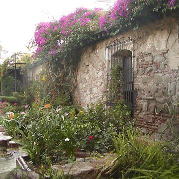 A Garden in Antigua by GloriaDK