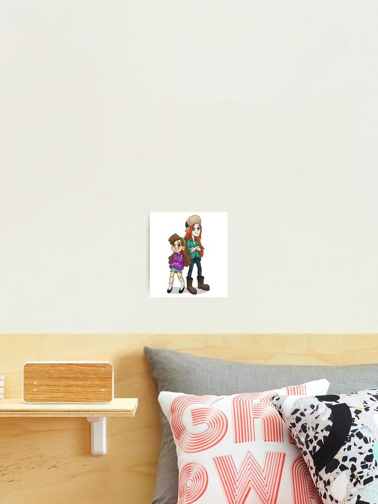 Mabel Und Wendy Von Gravity Falls Fanart Fotodruck