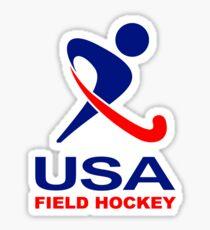 Team USA Field Hockey Sticker