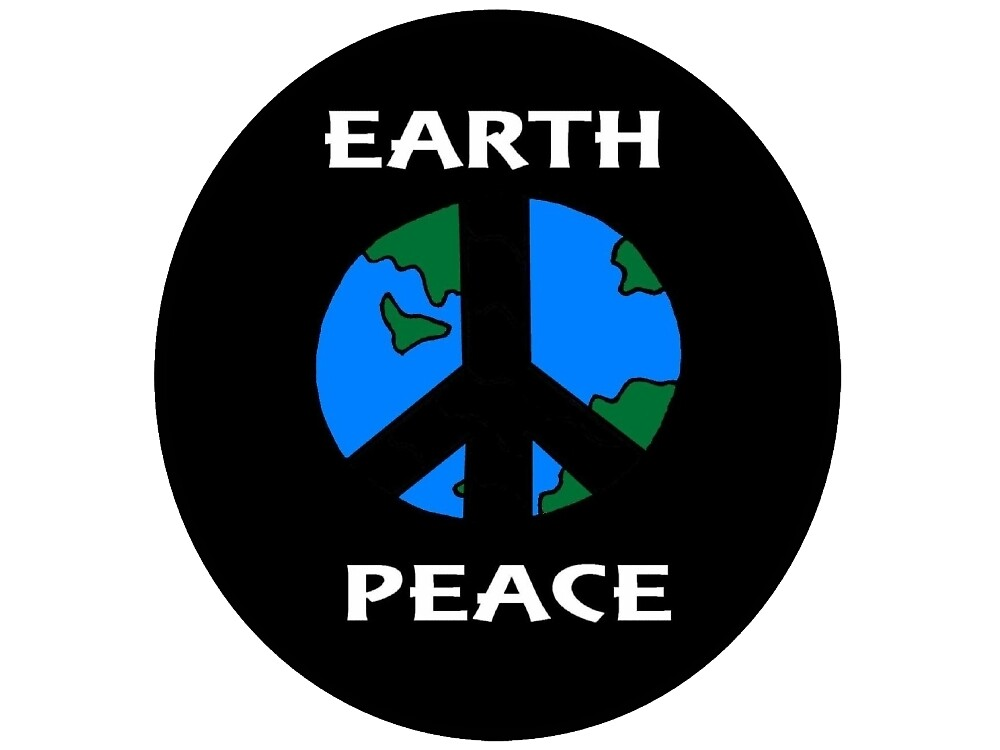 Peace Love Earth by imphavok