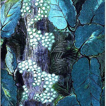 String of Pearls by GloriaDK
