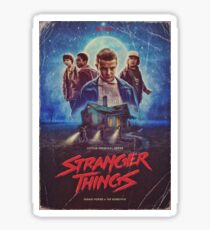 stranger things tv  Sticker