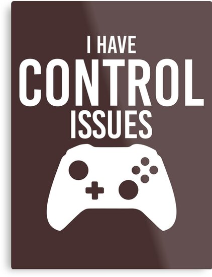 I have control issues tshirt by art78